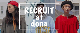 RECRUIT at dona